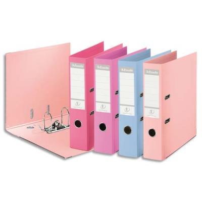 Classeur à levier Esselte N°1 Power en polypropylène - dos 7,5 cm - coloris assortis Solea