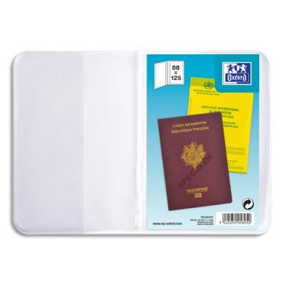 Etuis pour passeport ELBA  - 9,5 x 13 cm - PVC 30/100eme
