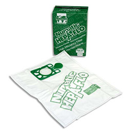 Lot de 10 sacs Hepaflo Numatic 15L pour aspirateurs CT370 et EAUPRO (photo)
