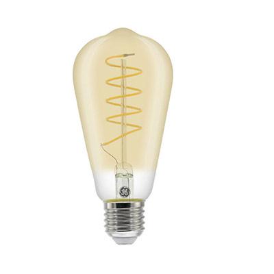 Ampoule LED à filament Edison Vintage 5,5W - culot E27 - 250 lumens - 2000K - classe A (photo)