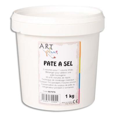 Seau de 1 kg de pâte à sel Ecole (photo)