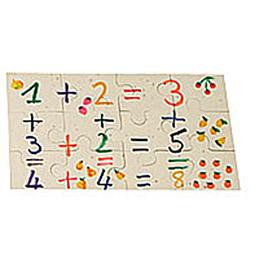 Puzzle blanc 12 pièces 20x12 cm (photo)
