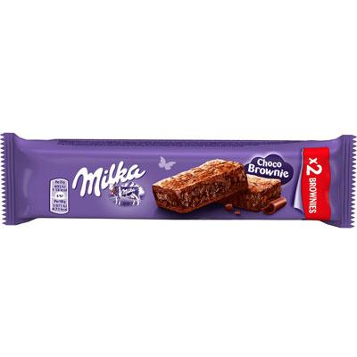 Choco brownie - gâteau moelleux au chocolat au lait avec des pépites - 18 sachets de 2 + 6 OFFERTS - paquet 24 unités (photo)