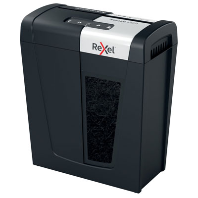 Destructeur de documents Rexel MC4 - coupe micro DIN P5 - 4 feuilles - corbeille de 14 litres
