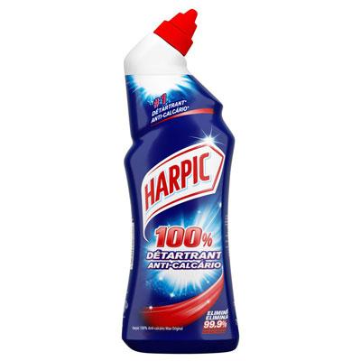 Gel WC 100% détartrant Harpic - 2 flacons de 750 ml + 1 OFFERT - paquet 3 unités (photo)