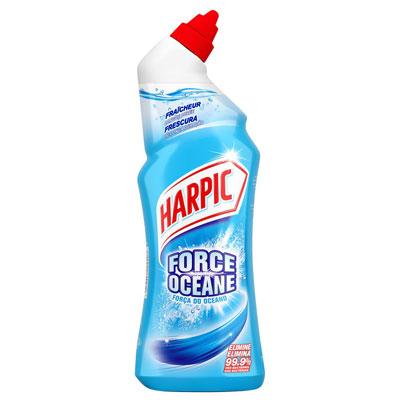 Gel WC Harpic auto-actif force Océane - 2 flacons de 750 ml + 1 OFFERT - paquet 3 unités (photo)