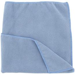 Chiffons microfibres tricotée - bleu - paquet de 5 (photo)