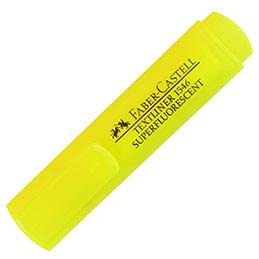 Surligneur jaune TEXTLINER 1546 - pointe feutre biseautée - coloris jaune