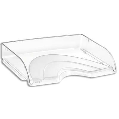 Corbeille à courrier Cep à l'italienne - A4 - coloris cristal (photo)