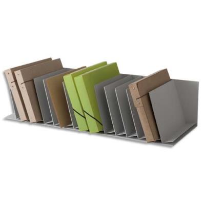Trieurs 20 cases incline Fastpaperflow - gris