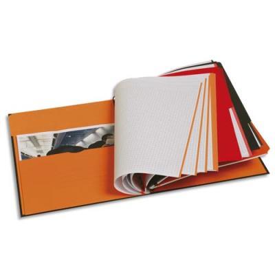 Cahier Oxford Filingbook - reliure spirales - A4+ - 200 pages - ligné 6 mm - papier 90g