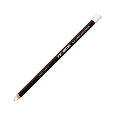 Crayon Staedtler Glasochrom - boîte de 12 - blanc (photo)