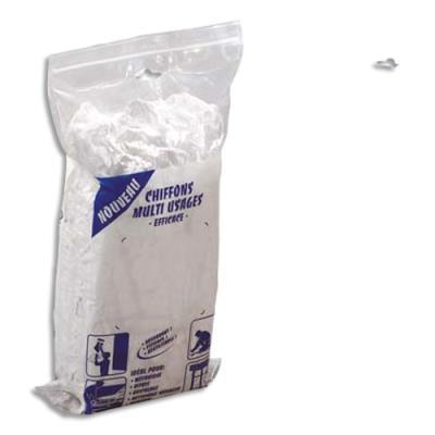 Chiffons textile blancs - multi usages - 1 Kg (photo)