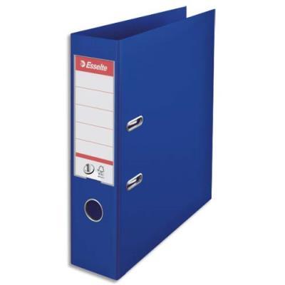 Classeur à levier N°1 Power Esselte - dos 7,5 cm - polypropylène - bleu foncé