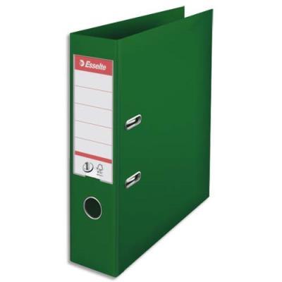 Classeur à levier N°1 Power Esselte - dos 7,5 cm - polypropylène - vert
