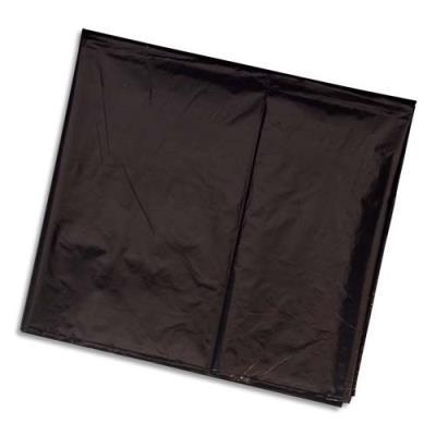 Sacs poubelles - 240 L - noir pourcontainer - boite de 100 sacs - 25 microns