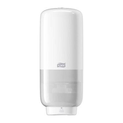 Distributeur de savon mousse S4 - plastique blanc 1L (photo)