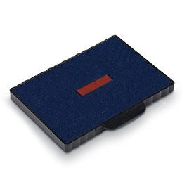 Boite de 10 cassettes de réencrage 6/511 bicolores pour tampons 5211