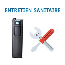 Prestation d'entretien sanitaire pour fontaine réseau (photo)