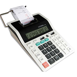 Machine à calculer imprimante Citizen Cx 32 II - 12 chiffres (photo)
