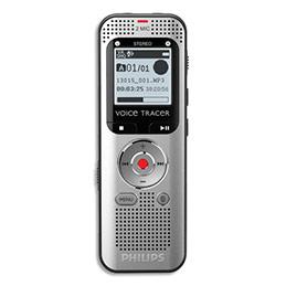 Voice tracer numérique Philips DVT2000 - connectable pc - stéréo - radio fm - 4 Go (photo)