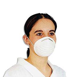 Masque coque d'hygiène économique - anti-poussières - boîte de 50