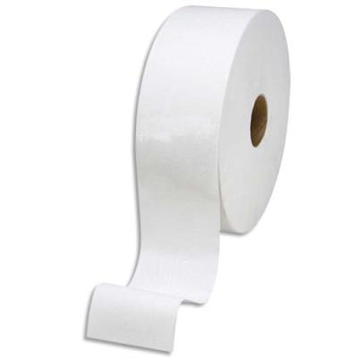 Mini bobine de papier toilette économique - 2 plis - longueur 150 m - colis de 12 bobines (photo)