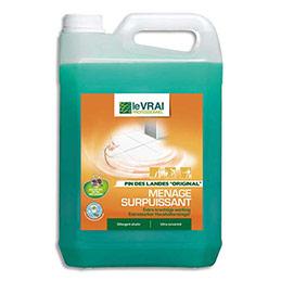 Nettoyant surpuissant utilisable en auto laveuse - bidon 5L (photo)