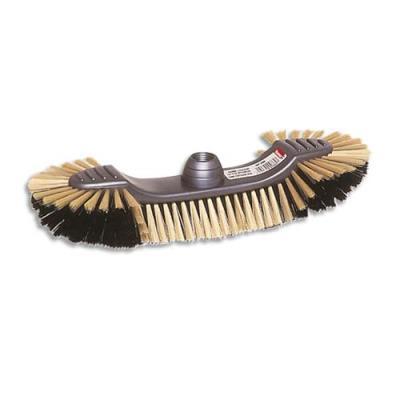 Balai demi tête d'intérieur - monture en plastique éco - Largeur 30 cm (photo)