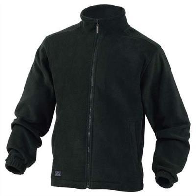 Veste polaire Vernon en laine polaire polyester - fermeture zip - 2 poches - noire - Taille M
