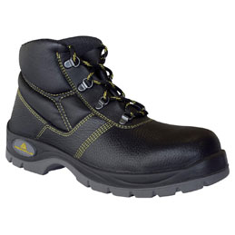 Chaussures Haute Gargas Basic en cuir fleur de bovin impregné semelle acier - Pointure 40 (photo)