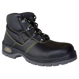 Chaussures Haute Gargas Basic en cuir fleur de bovin impregné semelle acier - Pointure 45 (photo)