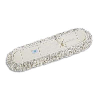Frange de rechange en coton lavable pour balais à franges - Longueur 80 cm (photo)