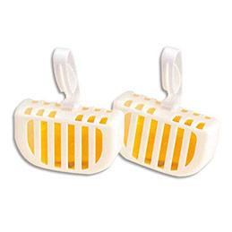 Blocs cuvettes WC économiques - parfum citron - boîte de 20 (photo)