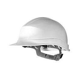 Casque de sécurité en polyéthylène - blanc - conforme EN397 (photo)