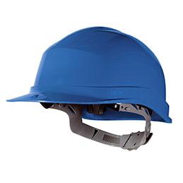 Casque de sécurité en polyéthylène - bleu - conforme EN397 (photo)