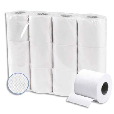 Papier toilette micro gauffré  - 2 plis - lot de 48 rouleaux de 200 feuilles