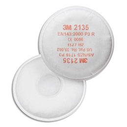 Filtres P3 contre les particules de poussières fines pour masque reutilisable K2135 - boîte de 20