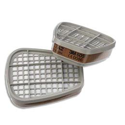 Boîte de 4 sachets de 2 Cartouches A2 vapeurs organiques K6055 (photo)