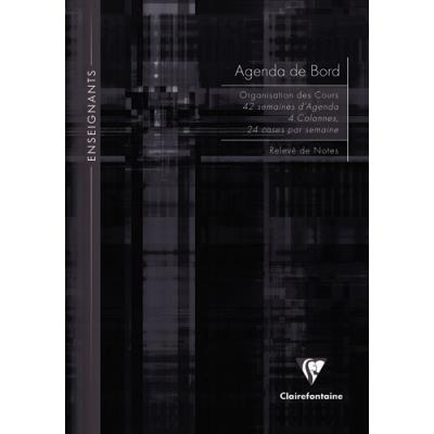 Agenda de bord Clairefontaine - brochure souple - 21x29,7cm - 144 pages (photo)