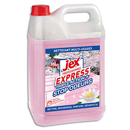 Nettoyant multi-usages Jex Professionnel Express triple action - parfum Souffle d'Asie- bidon de 5L (photo)