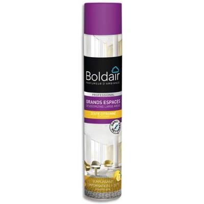 Destructeur d'odeur surpuissant Boldair Grands Espaces - citron - 750 ml (photo)