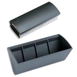 Brosse et bac de rangement magnétique Legamaster (photo)