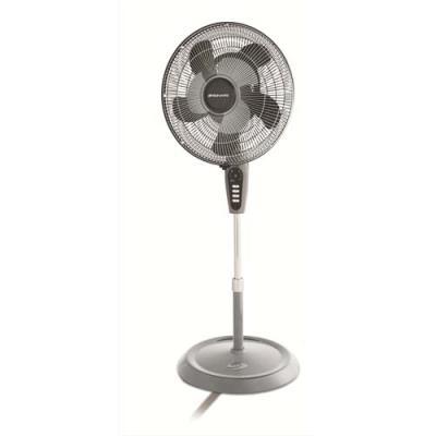 Ventilateur sur pied Bionaire - 40 cm - noir/gris - télécommande - 70W (photo)