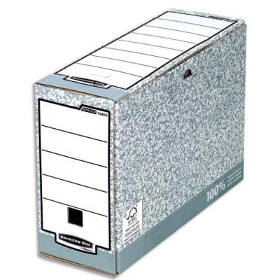 Boîte d'archives automatique Bankers Box® System - Format A4 - Dos de 10 cm (photo)