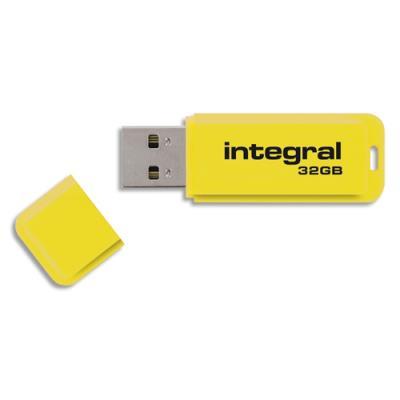 Clé USB 3.0 Néon - 32 Go - jaune (photo)