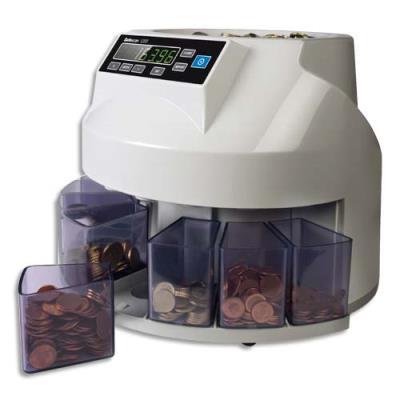 Compteuse trieuse de pièces Safescan 1250 blanche (photo)