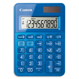 Calculatrice de poche Canon LS-100K - bleu (photo)