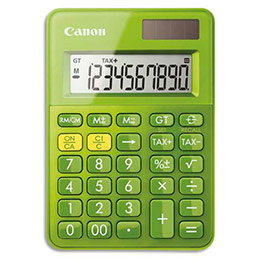 Calculatrice de poche Canon LS-100K - vert (photo)