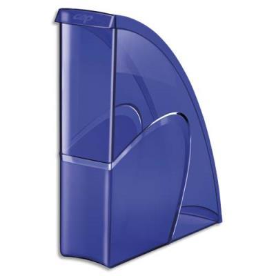 Porte-revues CEP Happy - dos 8,5 cm - bleu (photo)